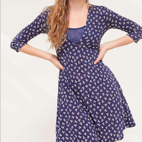 URBAN OUTFITTERS Mercer Blue Plunge Mini S New